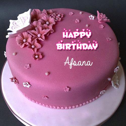 Birthday Cake With Name Anam