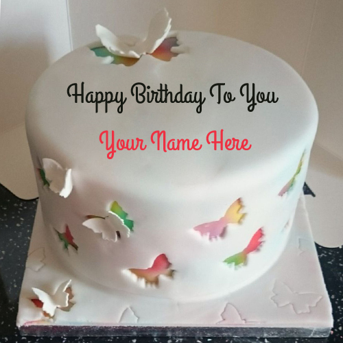 Cake Images With Name Rupali : Write Name on Happy Birthday Cake and Send on Whatsapp