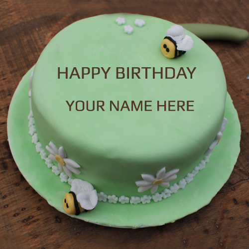 Birthday Cake Photo Download With Name : Write Your Name On Spice Cake Pictures Free Download