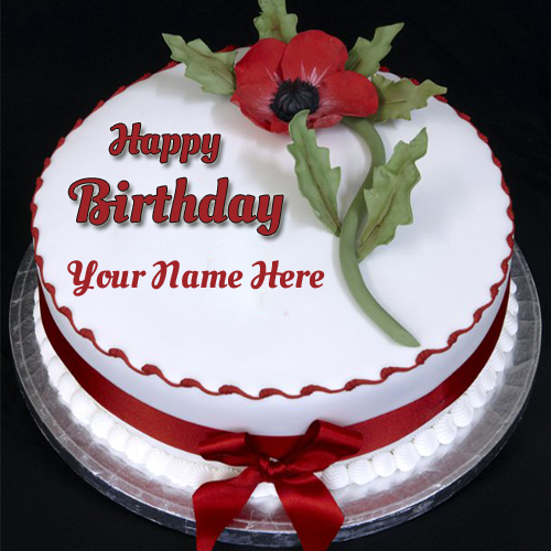 Name Pix Birthday Cake Beautiful : Incredibly Delicious Beautiful Birthday Cake With Name