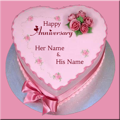 Wedding Anniversary Cake Photo Editor