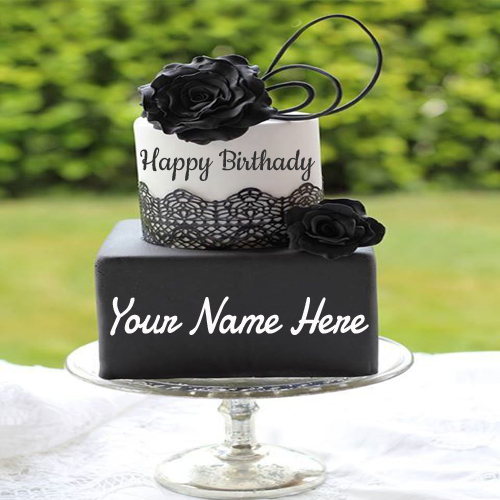 Write Name On Birthday Cake Bracelets Necklaces Pendant And Wish Cards Online Free