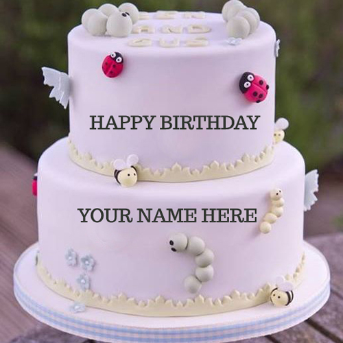 Birthday Cake Images For Husband With Name Editor : Write Your Name On Awesome Birthday Cakes Online